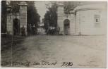 AK Foto Schlossberg bei Illuxt Ilūkste Todenhöfer mit Soldaten 1. WK Lettland 1916 RAR
