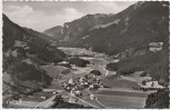 AK Sachrang b. Aschau im Chiemgau Luftbild Priental mit Kampenwand 1955