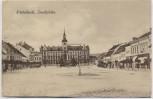 AK Mistelbach Stadtplatz mit Sparkasse Niederösterreich Österreich 1925