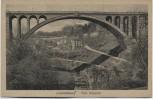 AK Luxemburg Pont Adolphe 1920