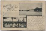 AK Nürnberg Gruss vom Dutzendteich J.B. Zetlmeier 1900