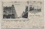 AK Gruss aus München Rupprechtstrasse St. Vinzentius-Anstalt 1905 RAR