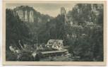 AK Waltersdorfer Mühle im Polenztal Waltersdorf b. Bad Schandau Sächsische Schweiz 1927