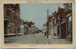 AK Groet uit Delfzijl Waterstraat Groningen Niederlande 1914