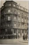 AK Foto Straßburg Strasbourg Hotel Monopole Metropole mit Menschen Bas Rhin Elsass Frankreich 1920 RAR