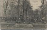 AK Kriegsfriedhof auf der Côte Lorraine bei St. Mihiel 1. WK Feldpost Meuse Frankreich 1916