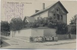 AK Pont-Faverger Pontfaverger-Moronvilliers Ecole Maternelle mit Kindern Feldpost Marne Frankreich 1914