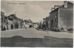 AK Pont-Faverger Pontfaverger-Moronvilliers Straßenansicht Marne Frankreich 1914