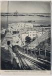 AK Nischni Nowgorod Ни́жний Но́вгород Ortsansicht mit Bahn und Kirche Russland 1910
