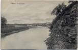 AK Sysranka Сызранка Blick auf Fluss mit Ortschaft Russland 1910