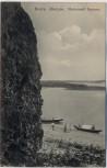 AK Волга Жигули Blick auf Wolga mit 2 Booten Russland 1910
