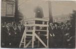 AK Foto Rotterdam Neerlandsch Onafhankelijkheid Redner auf Pult Südholland Niederlande 17. November 1913 RAR