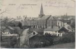 AK Wibrin Blick auf Ort mit Kirche bei Houffalize Feldpost Wallonien Belgien 1914 RAR