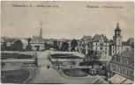 AK Mülhausen Mulhouse Eintritt in die Stadt Elsass Frankreich 1909