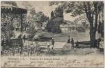 AK Mülhausen Mulhouse Partie in den Steinbach-Anlagen Elsass Frankreich 1907