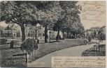 AK Mülhausen Mulhouse Partie in den Anlagen am Süd-Staden Elsass Frankreich 1906