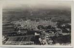AK Foto Freinsheim / Pfalz Flugzeugaufnahme Luftbild Altstadt mit Obstwald 1930