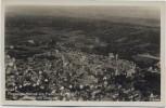 VERKAUFT !!!   AK Foto Freinsheim / Pfalz Flugzeugaufnahme Luftbild Altstadt mit Obstwald 3 1930