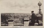 AK Freinsheim / Pfalz Totalansicht Blick vom Friedhof-Turm mit Mann 1940
