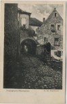 VERKAUFT !!!   AK Freinsheim / Pfalz Partie an der Stadtmauer 1933