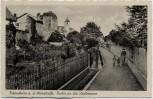 AK Freinsheim / Pfalz Partie an der Stadtmauer 1944