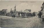 VERKAUFT !!!   AK Freinsheim / Pfalz Partie am Kriegerdenkmal 1910 RAR