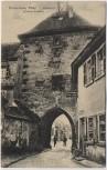 AK Freinsheim / Pfalz Eisentor Innere Ansicht 1922 RAR