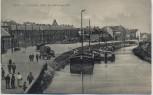 AK Lens Le Canal viele Schiffe 1. WK Pas-de-Calais Frankreich 1915