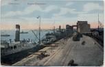 AK Mykolajiw Nikolajew Николаев Blick in Hafen mit Schiffen Ukraine 1920