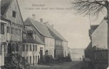 AK Middelfart Brogade med Huset hvori Henner Friser boede Syddanmark Dänemark 1910