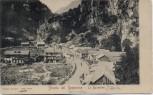 AK Strada del Sempione Le Baracche Iselle di Trasquera Simplonpass Piemont Italien 1910 RAR