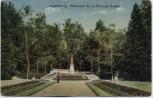 AK Luxemburg Ville de Luxembourg Monument de la Princesse Amelie Feldpost 1916