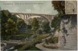AK Luxemburg Ville de Luxembourg Blick auf Pont Adolphe 1910