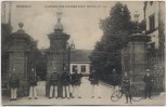 AK Montigny-lès-Metz Kaserne des Königs-Inft.-Regt. No. 145 mit Soldaten Moselle Lothringen Frankreich 1910 RAR