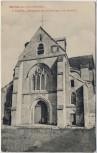 AK Mons-en-Laonnois Blick auf Kirche Feldpost Aisne Frankreich 1914