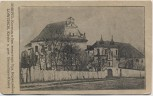 AK Lowitsch Łowicz Kirche und Bernadiner-Kloster Feldpost Polen 1915