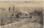 AK Charleroi Les fosses Sacré Madame et Saint Barbe Ortsansicht Feldpost Wallonien Belgien 1916