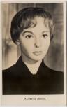 AK Foto Francoise Arnoul französische Schauspielerin 1950