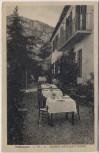 AK Tagliacozzo Albergo Ristorante Marina Abruzzen Italien 1920