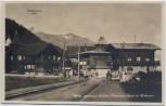 AK Foto Leukerbad Montana Pension Rawyi et Mirabeau Wallis Schweiz 1940