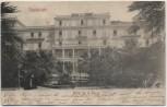 AK Ospedaletti Hotel de la Reine Ligurien Italien 1905