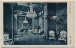 AK Rom Roma Grand Hotel de Russie Salone Verde The Green room Italien 1920