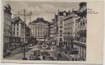 AK Wien Neuer Markt mit Autos Österreich 1930