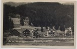 AK Foto Crans-Montana Chalet Blick auf Ort Wallis Schweiz 1930
