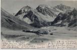 AK Sertig Dörfli bei Davos Graubünden Schweiz 1904