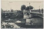 AK Cüstrin Küstrin Partie bei der kleinen Warthebrücke Kostrzyn nad Odrą Neumark Polen 1915