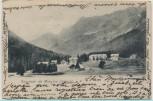 AK Souvenir de Morgins Valais Ortsansicht bei Troistorrents Wallis Schweiz 1902