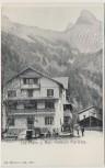 AK Les Plans-sur-Bex Pension Marletaz Waadt Schweiz 1910 RAR