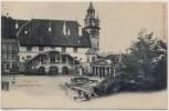 AK Fribourg Freiburg im Üechtland Hotel de ville Schweiz 1910