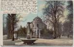 AK Souvenir de Biel/Bienne Ortsansicht mit Brunnen Bern Schweiz 1902